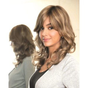 Brittany Wig | Synthetic Wig (Mono Top) | 9 Colours
