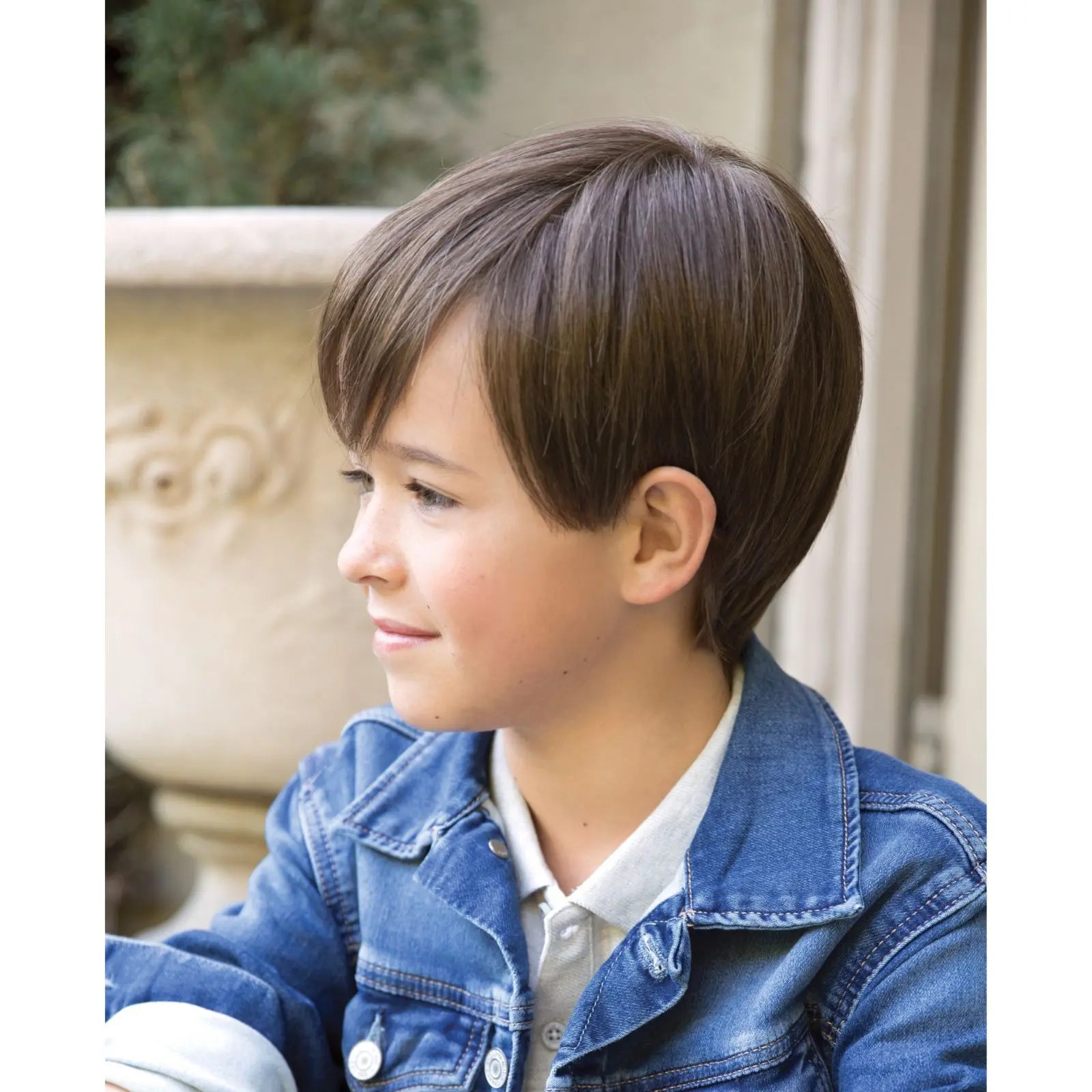 Logan Wig for Kids by Amore in Medium Brown