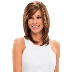 Sandra Wig | Synthetic Mono Top Wig (Hand Tied) | 29 Colours