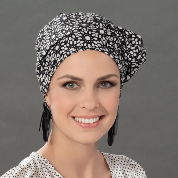 Paris Headwear by Ellen Wille in Flower Black