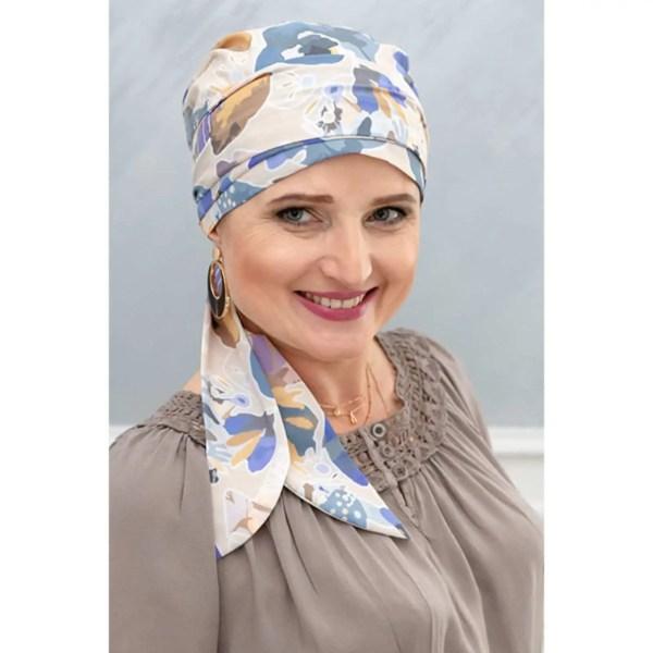 Monika Silk Scarf 1/112 | Headwear for women with hair loss
