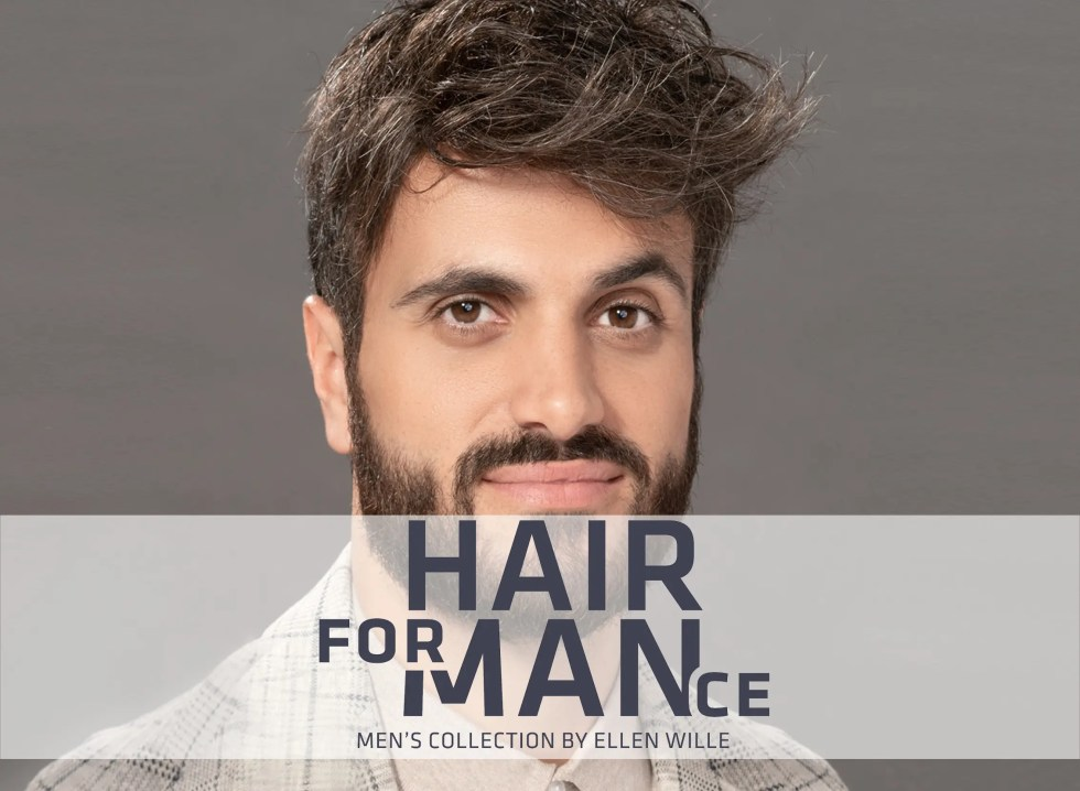 Hairformance Mens Hair Pieces by Ellen Wille