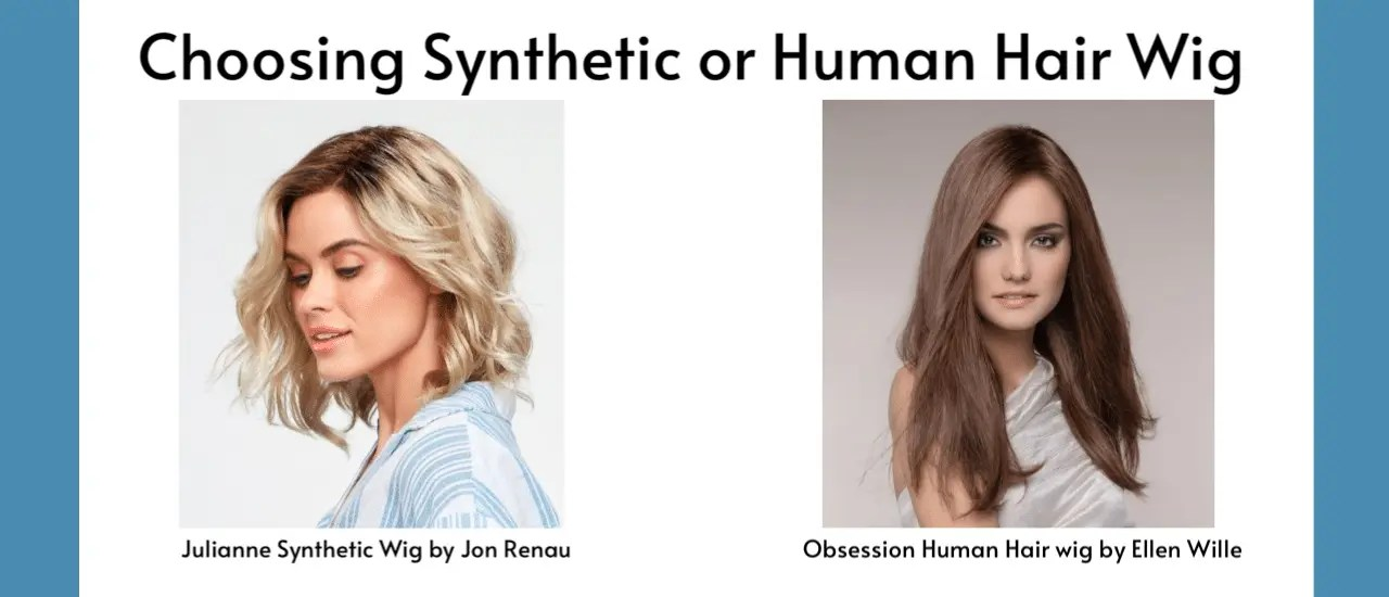 Choosing Synthetic Or Human Hair Wig