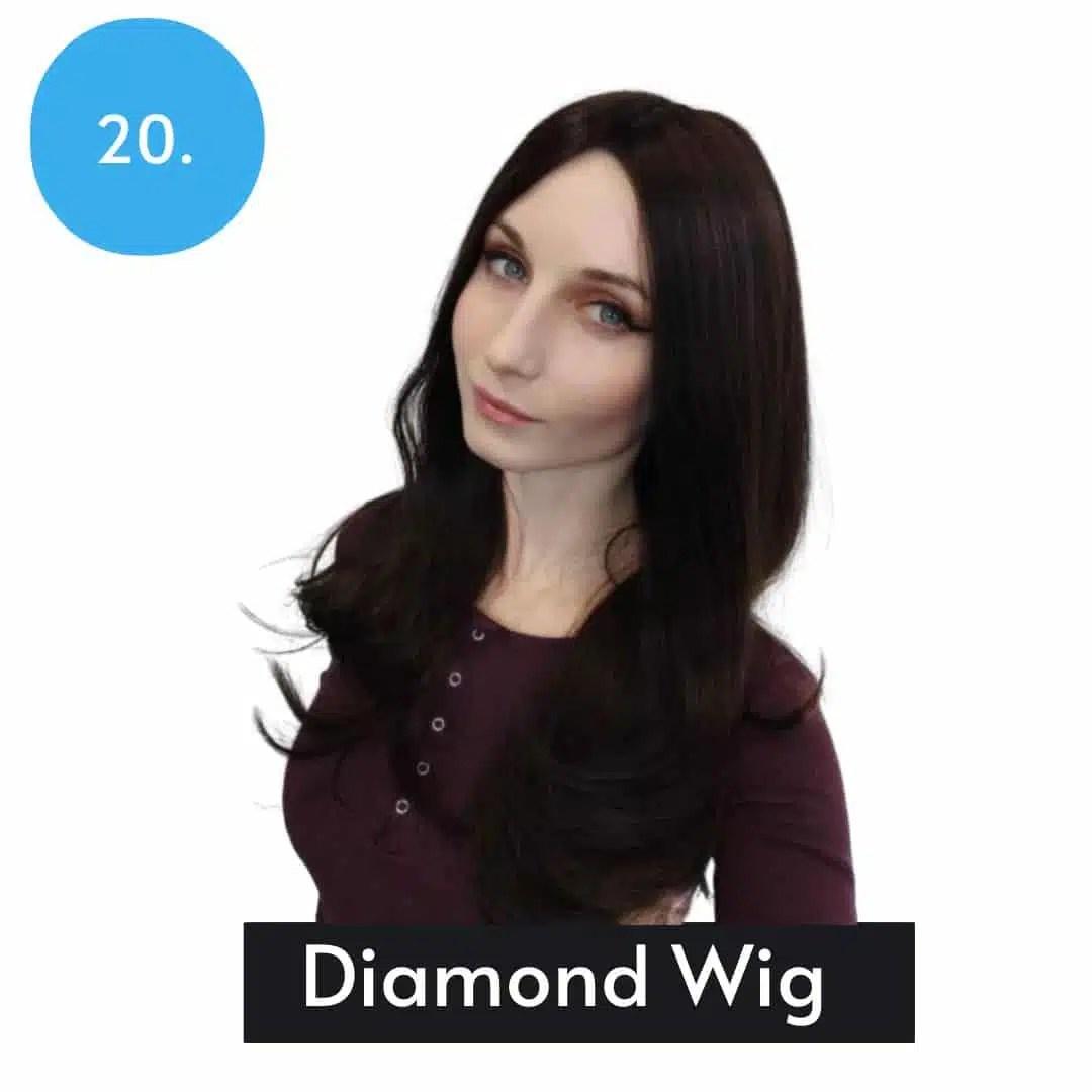 Diamond Wig By Trendco | Long Human Hair