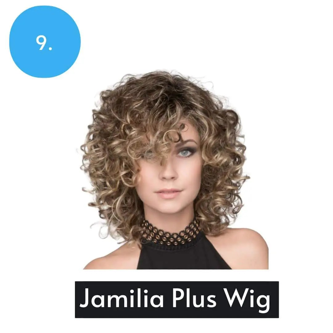 Jamila Plus Wig By Ellen Wille | Short Curly Synthetic