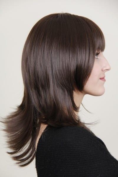 Alison human hair wig custom