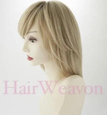 Ellen human hair wig