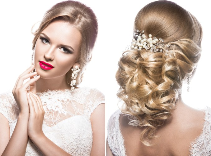 wedding hairstyles for a round face shape - hair world magazine