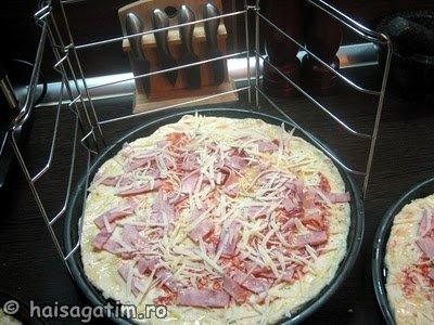 Aluat de pizza cu bere