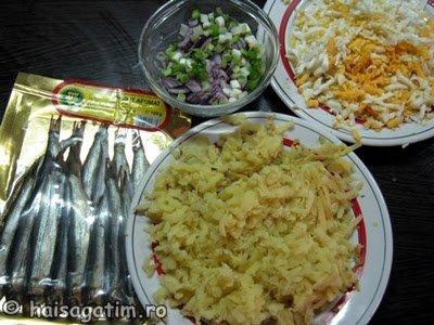 Ingrediente salata de peste