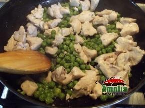 Pui la cuptor cu piure de cartofi  1