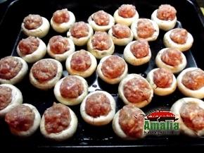 Chiftele cu ciuperci si ardei 2