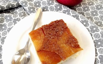 Budinca de orez cu mere caramelizate 1