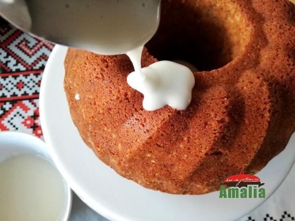 Glazurarea gugulufului cu iaurt
