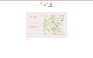 Axent Fashion website