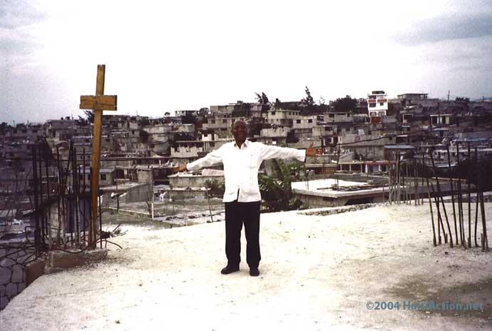 Fr. Jean-Juste in 2004