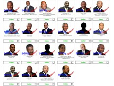 Haïti - i-Votes : Résultats première semaine