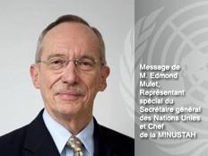 Haïti - Élections : Message de la Minustah sur le processus électoral