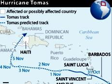 Haïti - Tomas : 72 heures avant l'arrivée de Tomas
