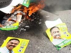 Haïti - Jacmel : Importante manifestation contre Joseph Lambert et INITE