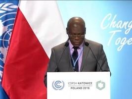 Haïti - Environnement : Intervention du Ministre Jouthe à la COP24 en Pologne