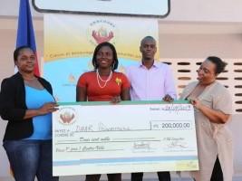 Haïti - Économie : Concours Renaissance, Moïse donne un coup de main aux jeunes entrepreneurs