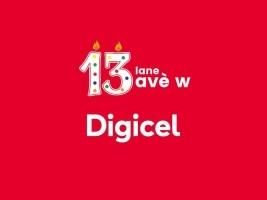 iciHaïti - Télécom : Digicel fête ses 13 ans d'opérations en Haïti