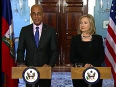Haïti - Politique : Texte de la conférence de presse conjointe, Hillary Clinton - Michel Martelly
