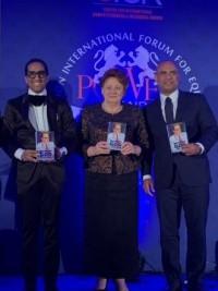 iciHaïti - Londres : Laurent Lamothe intronisé au Panthéon de la renommée 2019
