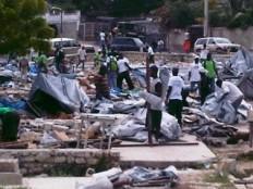 Haïti - Social : Martelly n'a rien à voir avec les destructions de camps à Delmas