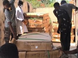 iciHaïti - Covid-19 : Remise de matériels et d'équipemements médicaux à l'hôpital St-Luc