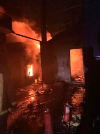 Haïti - Sécurité : Incendie au centre GHESKIO du Bicentenaire