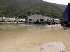Haïti - Climat : Le lac Azuéi, déborde, premières évacuations