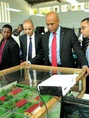 Haïti - Formation : Martelly et l'importance des filières techniques
