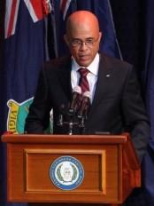 Haïti - Politique : Martelly parle de sa politique étrangère au sommet de la CARICOM