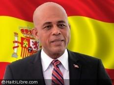 Haïti - Économie : Visite de Martelly en Espagne, un fonds de 50 millions de dollars