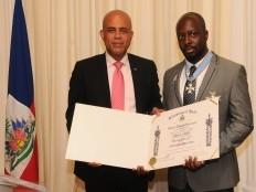 Haïti - Social : Wyclef Jean devient Grand Officier de l'Ordre National Honneur et Mérite