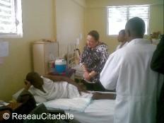 Haïti - Social : Sophia Martelly dans le Département du Nord
