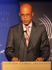 Haïti - Économie : Martelly parle d'investissements à la Clinton Global Initiative