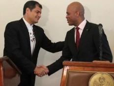 Haïti - Reconstruction : Pour Rafael Correa «l'espoir s'appelle Haïti»