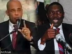 Haïti - Politique : Rencontre Martelly - Lambert