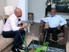 Haïti - Politique : Rencontre entre Martelly et Préval