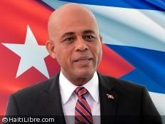 Haïti - Politique : Visite de Michel Martelly à Cuba