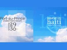 Haïti - Économie : Conférence internationale sur les investissements en Haïti