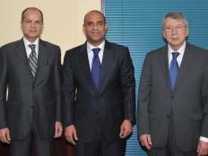 Haïti - Diplomatie : Visite des Ambassadeurs de l'Argentine et de l'UNASUR à la Chancellerie