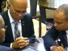 Haïti - Économie : Martelly et Lamothe ont rencontré de potentiels investisseurs