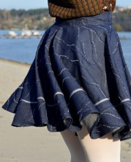 Hajdučica Clothing – Online Store-Twin Peaks Teksas Suknja