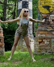 Hajdučica Clothing – Online Store – Banana Kid Jumpsuit