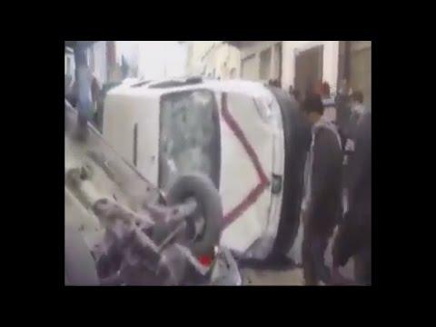 خطير : ثورة عنيفة بالحسيمة و إحراق لسيارات للأمن