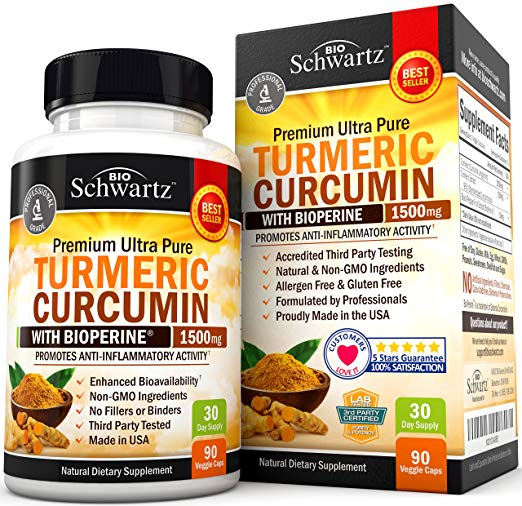 Premium Turmeric - WITH Bioperine for ultimate absorption